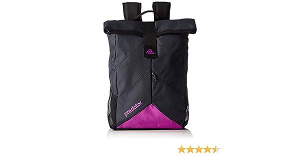 17786dc0b25f adidas Predator Backpack - Dark Grey Flash Pink S15 15 x 30 x 60 cm 31  Litre