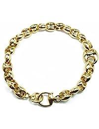 4dfcd87590c284 GUCCI bracciale Marina Chain in oro giallo 18kt YBA391027001018