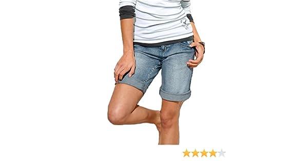 9393752d2b17 Arizona Jeans Bermuda Jeans Shorts Damen Short Deutsche Grössen - keine  inch-Grösse