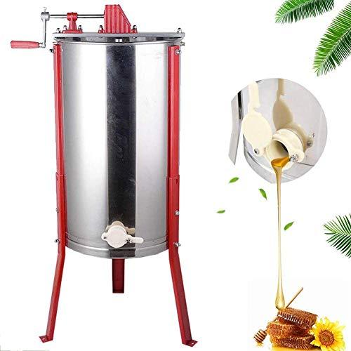 Produktbild TUDIO Honigschleuder Honey Extractor Honig Extraktor 2 Waben Manual Bienenzucht Ausrüstung Imker für Anfänger Bienenzüchter Zubehör