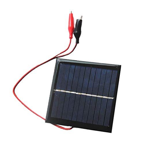 Descripción:       - Tipo: Panel solar de epoxi / componente    - Potencia: 1W    - Corriente de trabajo: 0-180MA    - Corriente de cortocircuito: 182MA    - Voltaje de funcionamiento: 5.5V    - Tensión de cortocircuito: 6.5V    - Puede carga...