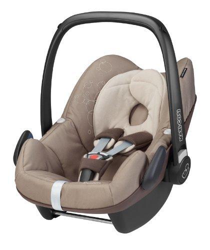 Preisvergleich Produktbild Maxi-Cosi 63005351 Pebble Kinderautositz Gruppe 0+ (bis 13 kg), ab der Geburt bis ca. 12 Monate, FamilyFix Konzept, walnut brown