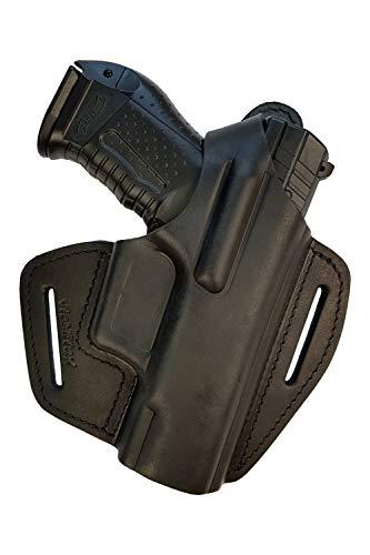VlaMiTex BX Leder Pistolenholster für Walther P99 / PPQ