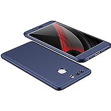 Carcasa Huawei P9 ,Qissy® Todo incluido Anti-Scratch Anti-huella dactilar a prueba de choque Suave Protective Case Cover Skin para Huawei P9 Plus