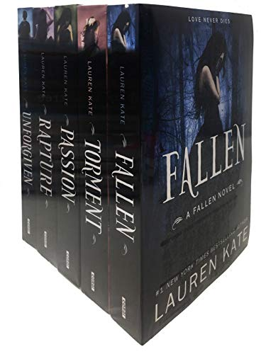 Lauren Kate Fallen Series 5 Books Collection