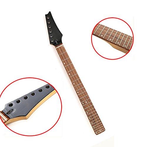 ERCZYO Guitare électrique 24 frettes manche en bois d'érable ERCZYO