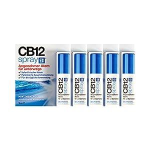 5x CB12 Spray 15ml PZN: 12414534 Mundspray für frischen Atem Alkoholfrei