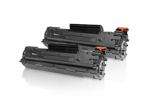 Preisvergleich Produktbild Inkadoo® Toner passend für HP LaserJet P 1102 ersetzt HP 85A CE285AD - 2x Premium Drucker-Kartusche Kompatibel - Schwarz - 2x1.600 Seiten