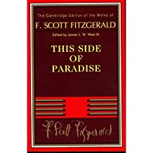 (THIS SIDE OF PARADISE) BY [FITZGERALD, F. SCOTT](AUTHOR)PAPERBACK