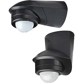 Grothe Bewegungsmelder 360 Grad 230 V, Aufputz, IP55, Mc Guard Pro BM 360 Sw, schwarz, 5167044