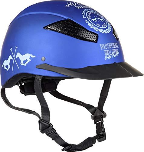 HV Polo Sicherheits-Reithelm Aberdeen CE VG1 01 040 2014-12 Coolmax (L, Ocean)