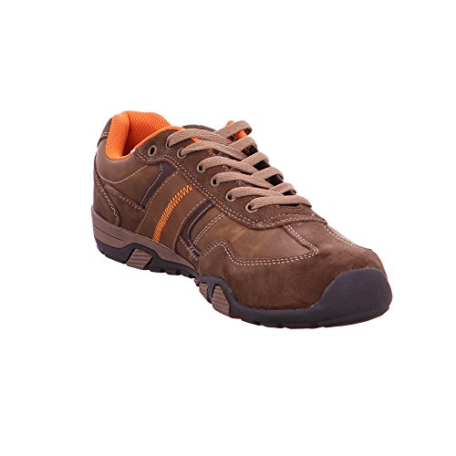 Dockers by Gerli Herren Sneaker aus Leder in braun Braun