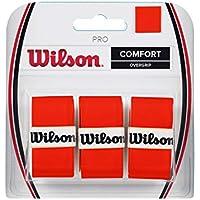 Wilson Sobreempuñaduras Pro, Lote de 3 unidades, Naranja, WRZ470820