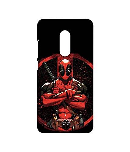 Licensed Marvel Comics Deadpool Premium Printed Back Cover Case for Xiaomi Redmi Note 4