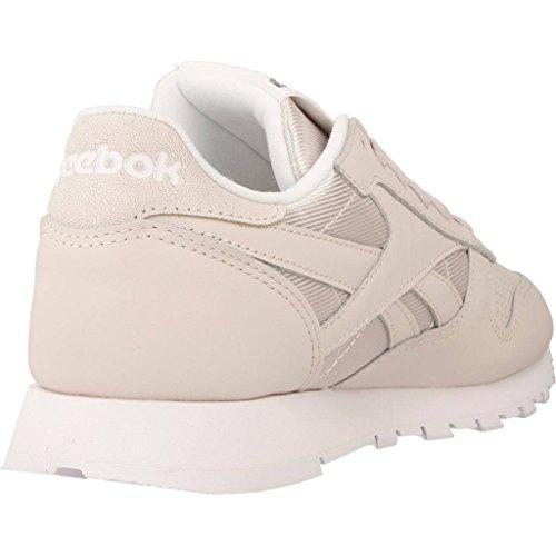 Reebok Femme Chaussures / Baskets Classic Leather FBT Beige