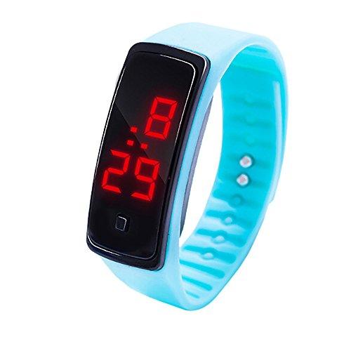 JiaMeng Pulsera Impermeable Reloj de Pulsera con Pantalla Digital...