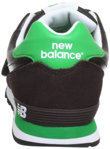 New Balance KV574 M (YOUTH) 311560-40 Jungen Sneaker Braun (BGY BROWN/GREEN 9)