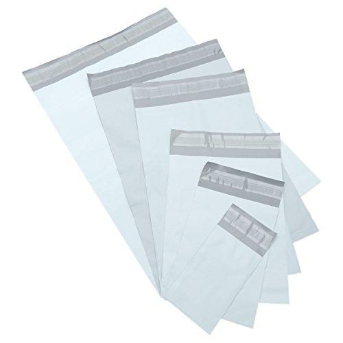 packung-mit-300-misch-sortiert-weiss-kunststoff-eilbote-sack-taschen-glockengelaut-und-dichtungsstre
