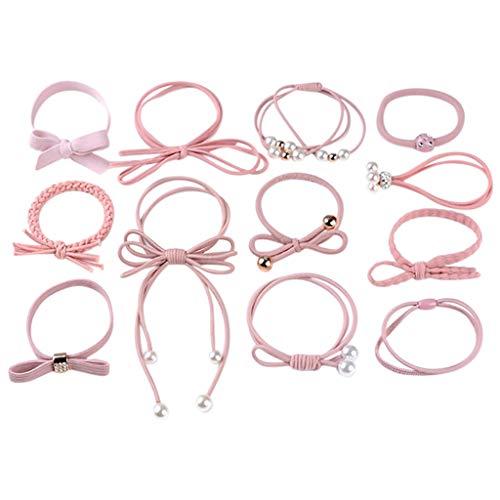 Mitlfuny Haare Frisuren Set,Haar Zubehör Styling Set,Hair Styling Accessories Kit Set,Frauen Arbeiten beiläufiges nettes Headwear elastisches Haar-Ring-Haar-Seil (3 Ring Zirkus Kostüm)