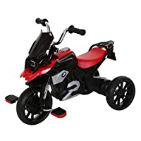 ROLLPLAY Trike, For Children 2 Years and Older, Up to 22 kg, BMW R1200 GS Motor Trike, Red