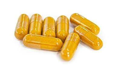 Turmeric Curcumin 500mg + 5mg Bioperine - Amazing Benefits - 4 Months Supply - 120 Capsules - Money Back Guarantee - U.k Manufactured by TITAN VITAMINS