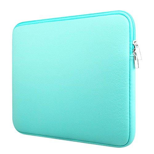 Custodia Protettiva Sleeve Case Borsetta per Laptop / Notebook / Macbook Air / Macbook Pro / Macbook Pro Retina Menta verde 15 Pollici