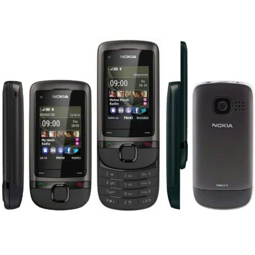 Nokia NOKIA C205 DYNAMIC GREY 6438158416499