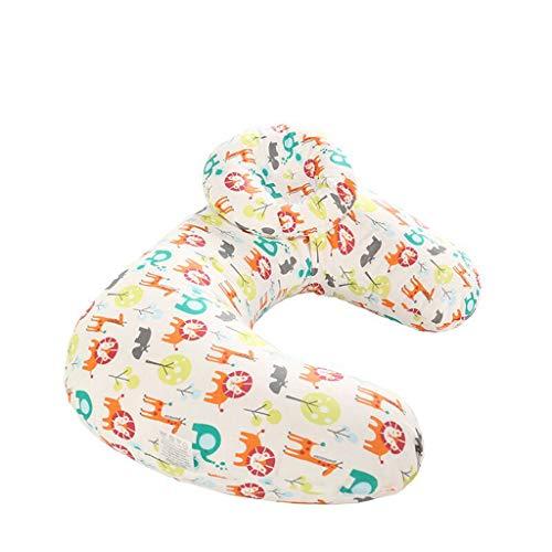Cuteelf Baby U-förmige Stillkissenbezug multifunktionale Kissen abnehmbare Kissenbezug Stillen Neugeborenen Stillkissenbezug Pflege Kissenbezug Sofabezug komfortable weiche Bombe