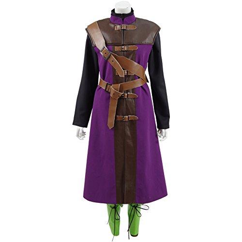 -Charakter Cosplay Kostüm (XXL, Mehrfarbig) (Spiel Charaktere Kostüme)