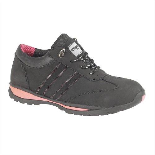 Amblers Steel , Chaussures de running pour homme Noir - noir