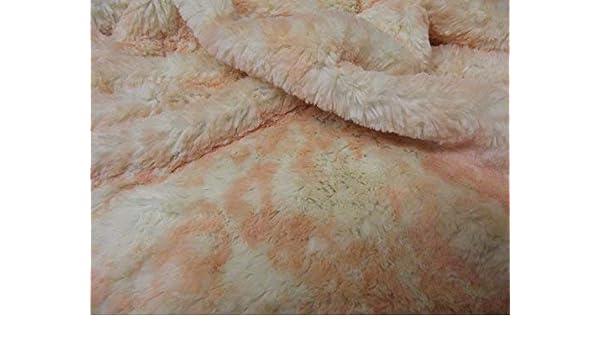 MICRO BLUSH OCELOT Super Luxury Faux Fur Fabric Material