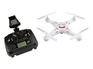 Velleman RCQC3 - Cuadricóptero con cámara fotográfica 720P Wi-Fi FPV