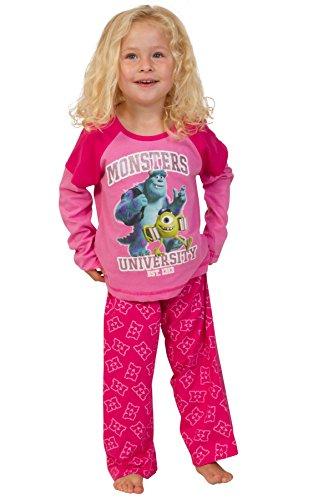 ma Monster Universität Pyjama 5–6Jahre (Mädchen Aus Monster Inc)