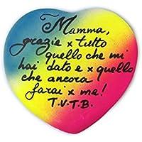 Festa della Mamma 13/5/18 Mamma grazie x tutto. -Idea Regalo x La Festa della Mamma, Regala il tuo cuore alla Mamma, Personalizzabile