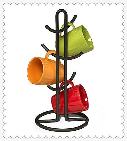 XY&GKKreative Kaffeetasse Halter hängenden Becherhalter Wasser Schale leeren Bügeleisen Rack, mit bestem Service