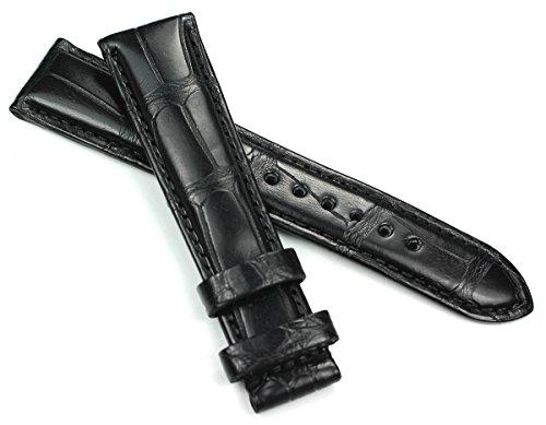 Graf 18mm/16mm vera pelle Band a mano Art Manuel per Cartier fibbia...