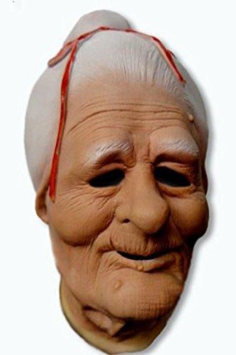 Granny Latex Maske ()