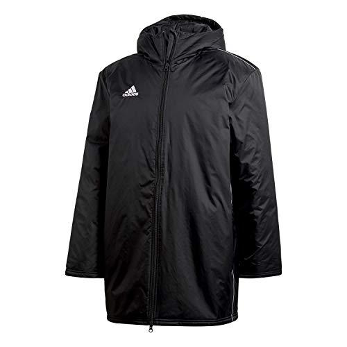 adidas Herren Core 18 Stadium Jacke, Black/White, XXL