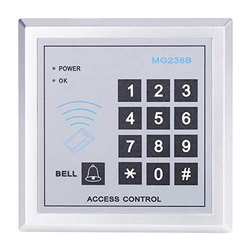 Zugangskontrolle RFID Leser elektronische Passwort Türklingel Schloss System Sicherheitstür Access Control 125 kHz