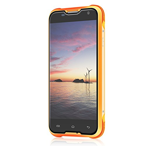 Blackview BV5000 Outdoor Smartphone (IP67 + 5000mAh Akku + 2GB RAM + 16GB ROM) 5.0 Zoll Unlocked 4G Android 6.0 Smartphone, Wasserdicht/ Stoßfest / Staubdicht Rugged Phone Quad Core Dual SIM Dual Standby Outdoor Handy