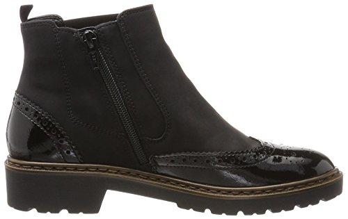 Jenny Ladies Portland St Chelsea Boots Nero (nero)