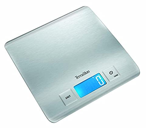 Terraillon Carre Inox Ultra Slim Balance Électronique 5