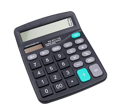Hycy Rechner 12 Digit Large Screen Calculator Mode Computer Finanzbuchhaltung