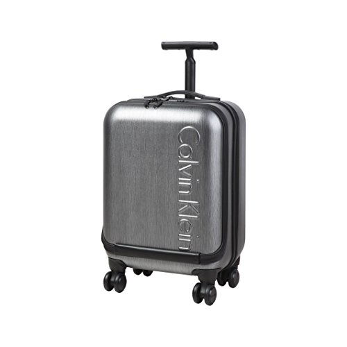 Calvin Klein Valigie Computer Trolley, 40 Litri, Charcoal