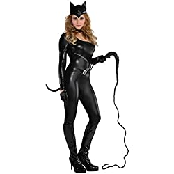 Purrvocative Kat Costume Adult Cat Fancy Dress Womens UK 10-12 by Amscan