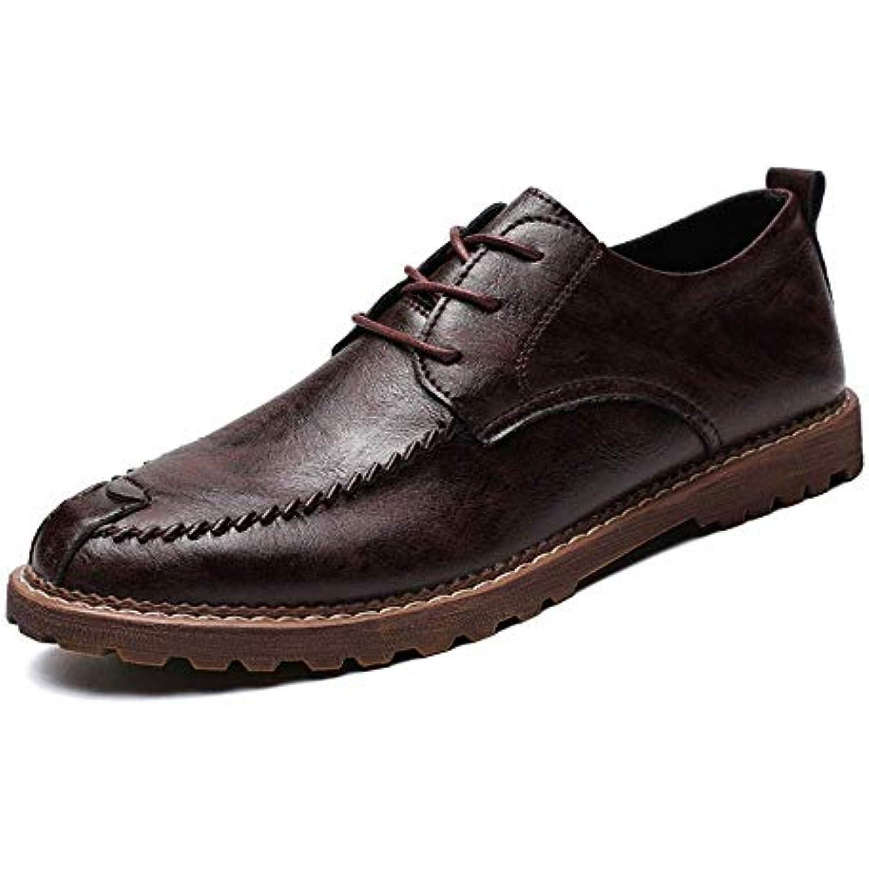 Chaussures de ville Oxford (Warm Casual pour hommes d'affaires décontractées, tête simple, 2018 (Warm Oxford En option) (Couleur... - B07KK53ZDC - 8ffae4
