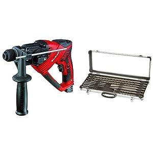 Einhell Bohrhammer RT-RH 20/1 (500 W, 1,6 J, Bohrleistung Ø in Beton 20 mm, SDS-Plus, Verdrehsicherung, Metall…