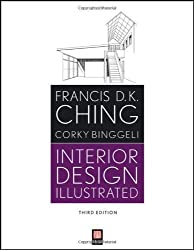 Interior Design Illustrated by Ching, Francis D. K., Binggeli, Corky 3rd (third) Edition [Paperback(2012)]
