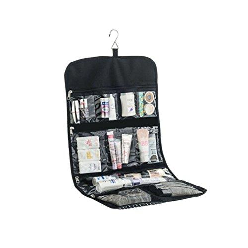Ciaoed Oxford Stoff Tragbare hängen Pflege Aufbewahrungstasche Travel Kulturbeutel Make-up Kosmetikkoffer Organizer für Bad-Accessoires