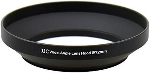 JJC LN-72W 72mm Metal Lens Hood for Nikon AF-S 18-200MM 1:3.5-5.6G Wide-Angle Lens